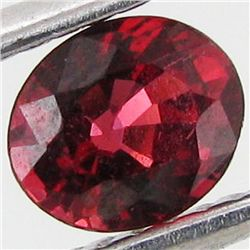 0.6ct Natural Intense Red Spinel Oval (GEM-29323H)