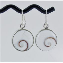 Sterling Shell Earrings (JEW-1955)