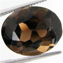 11.86ct Smokey Quartz Oval (GEM-29561S)