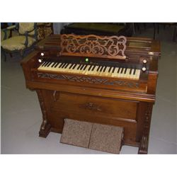 antique Burdett pump organ (small) travel size  SSR