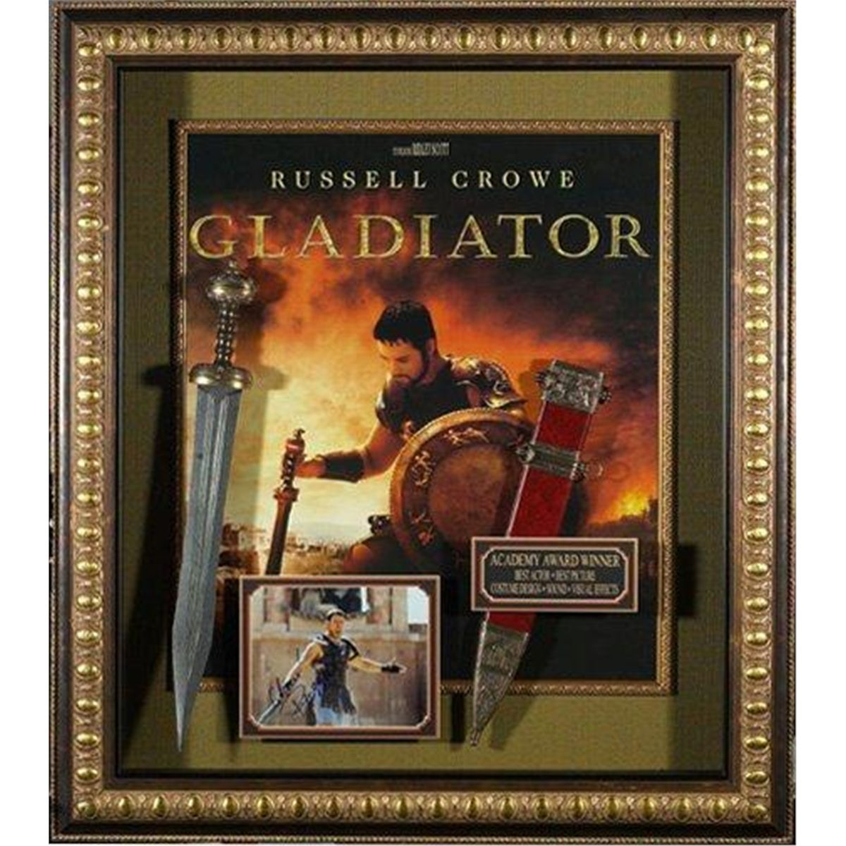 hollywood gladiator gladiator large movie poster with