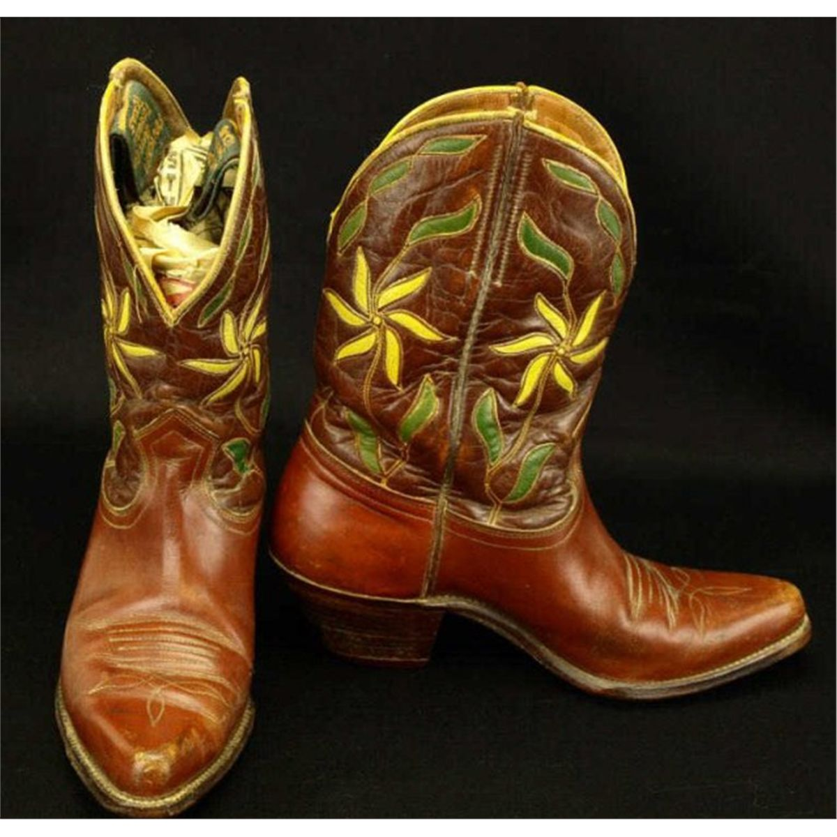 Vintage Pair Cowboy Boots Marked Ranger Boot Co