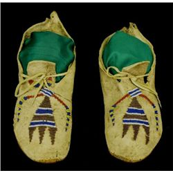 C. 1870-1880's Mandan Hidatsa partially beaded