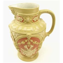 Fine Billbroy and Boch Mettlach wine flagon