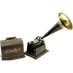 Edison Gem Cylinder Phonograph player