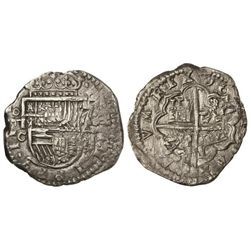 4 Reales. 16(__). TOLEDO. C. 13,50 grs. Cal-Tipo 95. MBC+.