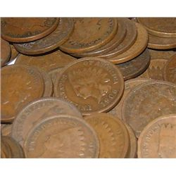 Lot of 10 Indian Head Cents-goods