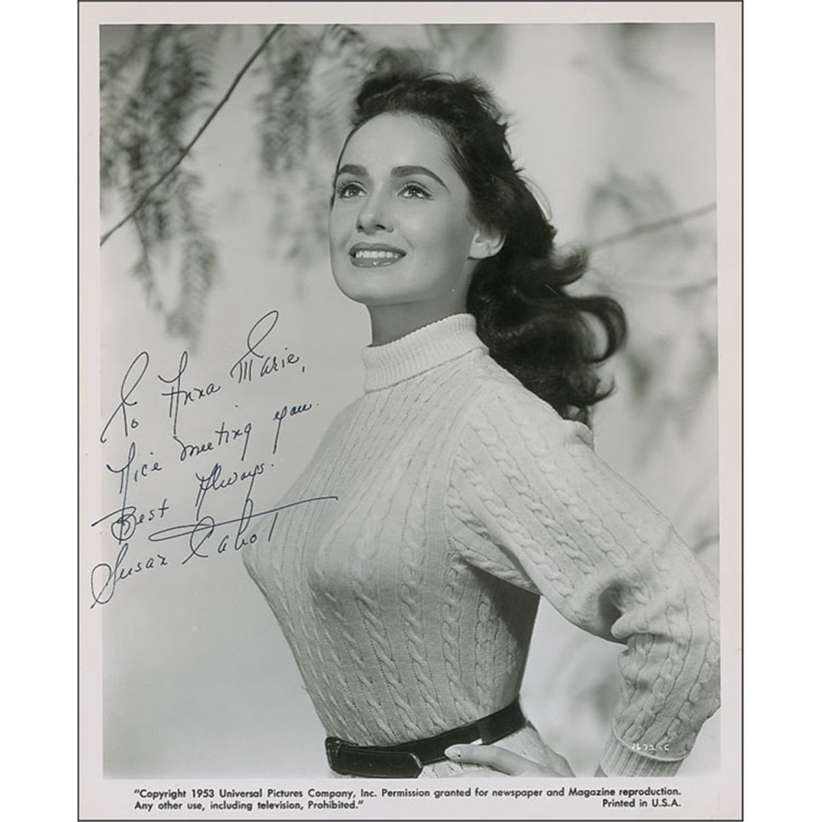 Watch Susan Cabot video