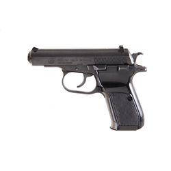 CZ Mdl 83 Cal .380acp SN:4905 Double action semi-auto pocket pistol made in Czechoslovakia.  Blued f