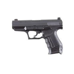 Walther P990EX Cal .40S&W SN:413417 Double action semi-auto compact 8 round pistol with black stainl