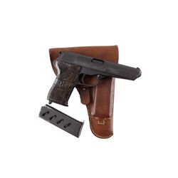 CZ Mdl 52 Cal 7.62x25 SN:T12601 Single action semi-auto pistol made in Czech Republic.  All steel co