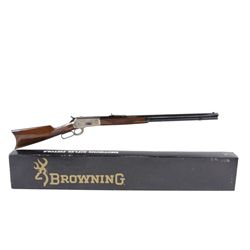 Browning Mdl 1886 Cal .45-70 Gov't SN:01042MT1889, Lever action  Montana Centennial, 1889-1989  rifl