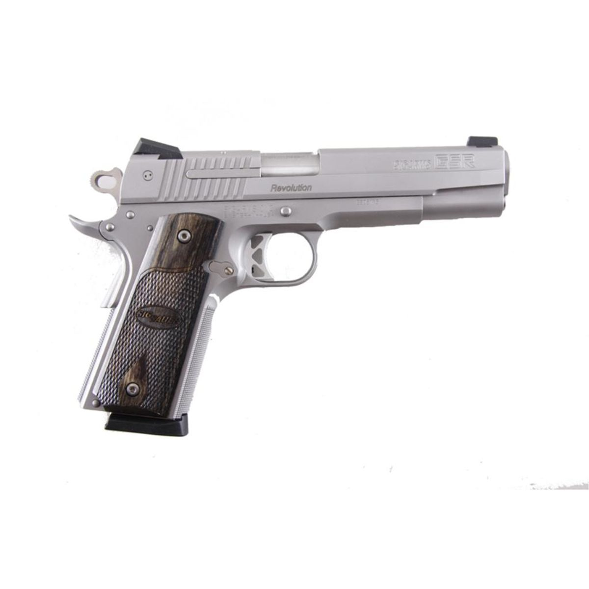 Sig Sauer Mdl Gsr Revolution Cal 45acp Sn Gs05173 Single