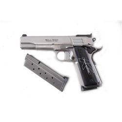Smith & Wesson Mdl PC1911-2 Cal .38super SN:DKC0368, Double action semi-auto stainless steel pistol