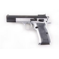 Tanfoglio P23L Witness-Match Cal .38super SN:EA37615, Single action semi-auto Match Target pistol ma
