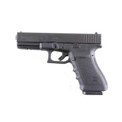 Glock Mdl 21 Cal .45acp SN:EUZ757US Double action only 13 shot semi-auto pistol with black polymer f