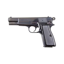 FEG/KBI PJK-9HP Cal 9mm SN:B82202 Hungarian made copy of the Browning Hi-Power single action semi-au