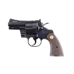 Colt Python Cal .357mag SN:53503 Double action revolver, factory 2 1/2  BBL, like new in assoc. box,