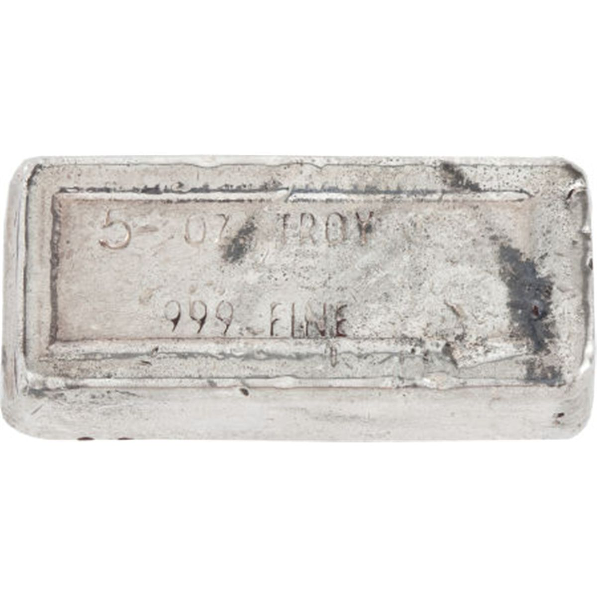 A 5 Ounce Sterling Silver Bar 1974 Total 1