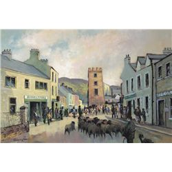 William Cunningham (b.1946) - FAIR DAY, CUSHENDALL