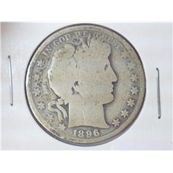 1896 BARBER HALF DOLLAR