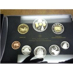 2005 CANADA PROOF SET ALL COINS SILVER EXCEPT FOR