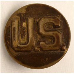 WWII U.S. Army Military Pin Brass 2 Clutchback