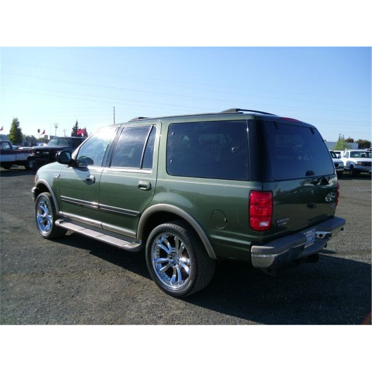 2002 Ford Expedition For Sale: 2000 Ford Expedition Eddie Bauer Edition 4x4 SUV