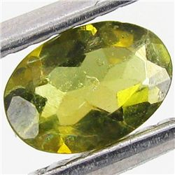 0.42ct Chrome Green Tourmaline Oval (GEM-40722)
