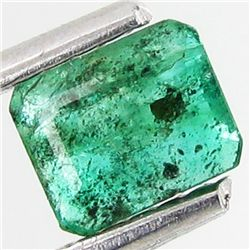 .48ct Octagon Emerald Deep Green Colombia (GEM-8941A)