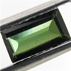 0.44ct Blue Green Tourmaline Baugette (GEM-40779)