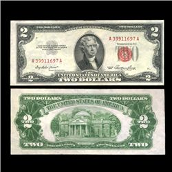 1953 $2 US Note Crisp Circulated SCARCE (COI-4713)