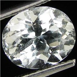 3.05ct White Topaz Oval (GEM-29831E)