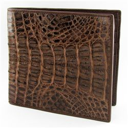 Mens Crocodile Hide Skin Wallet (ACT-272)