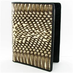 Mens Rare Cobra Skin Upright  Wallet (ACT-267)