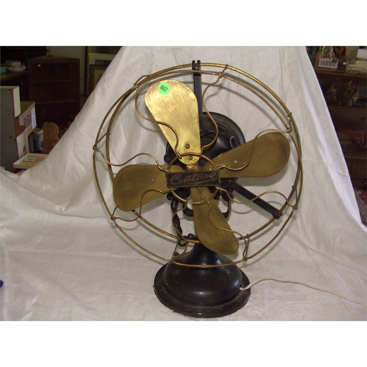 - Antique Century Desk Fan