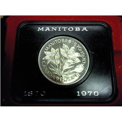 1970 CANADA MANITOBA DOLLAR PROOF LIKE