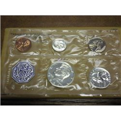 1964 US SILVER PROOF SET WITH ENVELOPE