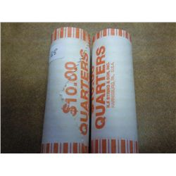 ROLLS OF 2002-P/D MISSISSIPPI QUARTERS (UNC)