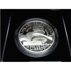 2000 LIBRARY OF CONGRESS PROOF SILVER DOLLAR