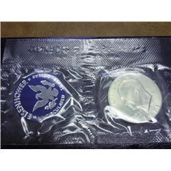 1971 IKE SILVER DOLLAR (UNC) BLUE PACK