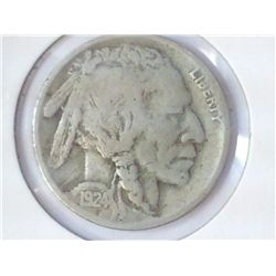 1924-D BUFFALO NICKEL (FINE)