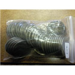 ROLL OF 40-UNDATED BUFFALO NICKELS
