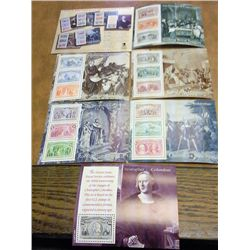 1992 USPS VOYAGES OF COLUMBUS STAMP SET $16.34