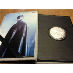 "1 TROY OZ .999 FINE SILVER ROUND ""BATMAN"""