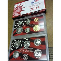 2004 US SILVER PROOF SET (WITH BOX)