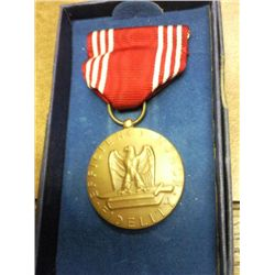 US GOOD CONDUCT MEDAL IN ORIGINAL BOX