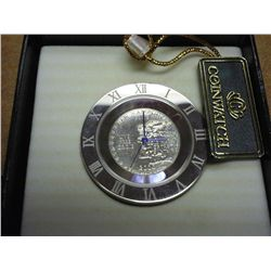 COIN CLOCK WITH 2000 NEWHAMPSHIRE QUARTER