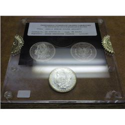 1881-S MORGAN SILVER DOLLAR PNGL 65/65