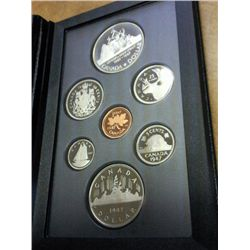 1987 CANADA DOUBLE DOLLAR PROOF SET